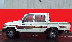 Toyota Land-Cruiser Pickup Double Cabine